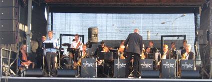 Oplagt Big Band gjorde honnør for HKH Kronprinsen