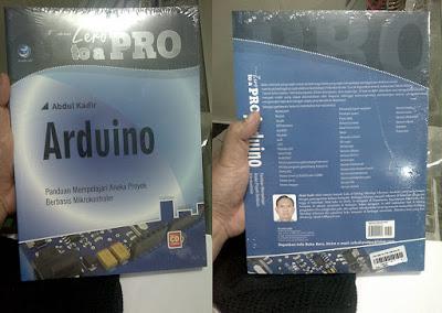Buku Arduino From Zero To a Pro Lengkap Membahas Sensor-sensor