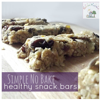 No Bake Healthy Snack Bar