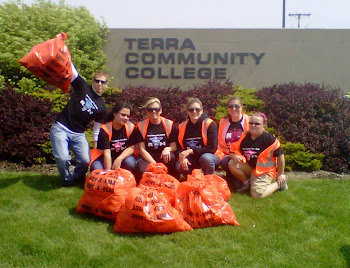 Trash pick-up 2012
