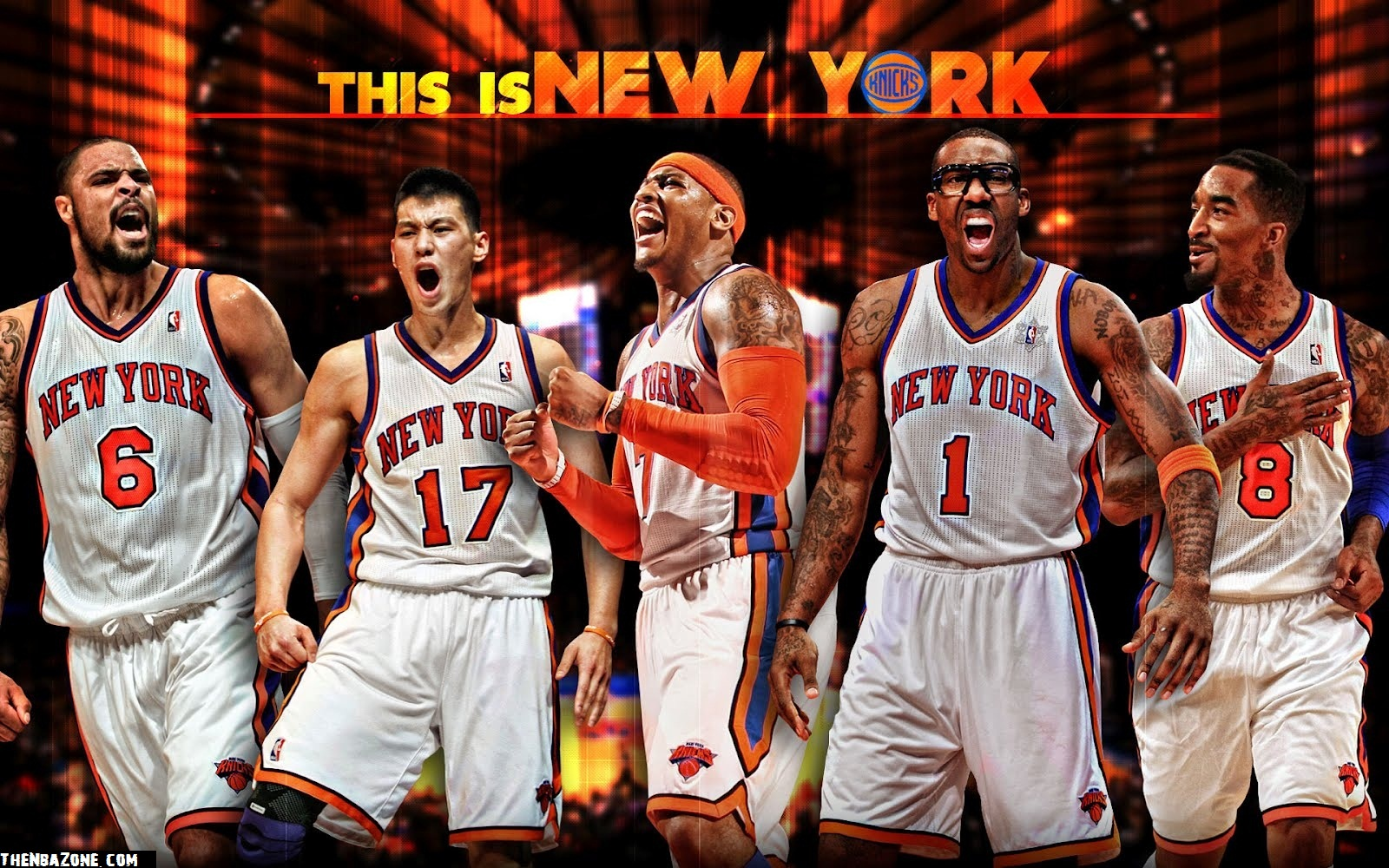 New York Knicks NBA Playoffs 2012 HD Wallpaper