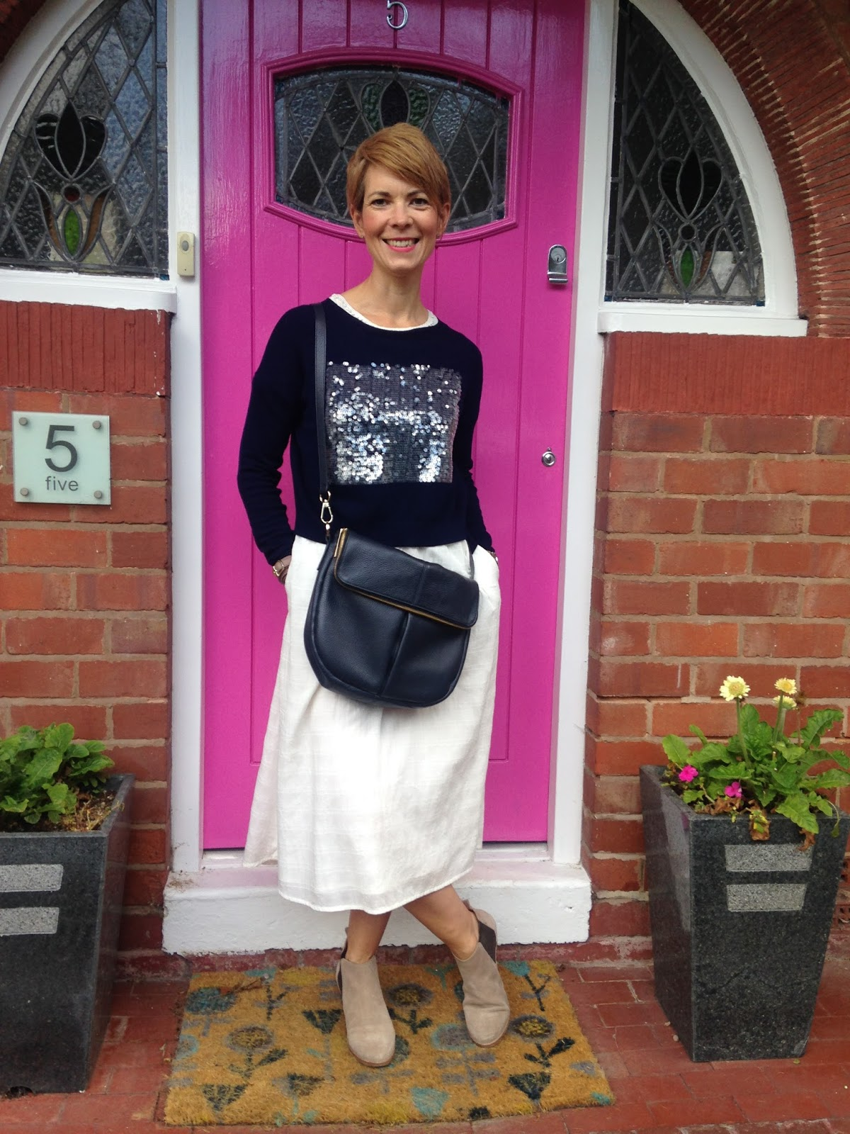 I will not surrender….layering up an & Other Stories dress into September…