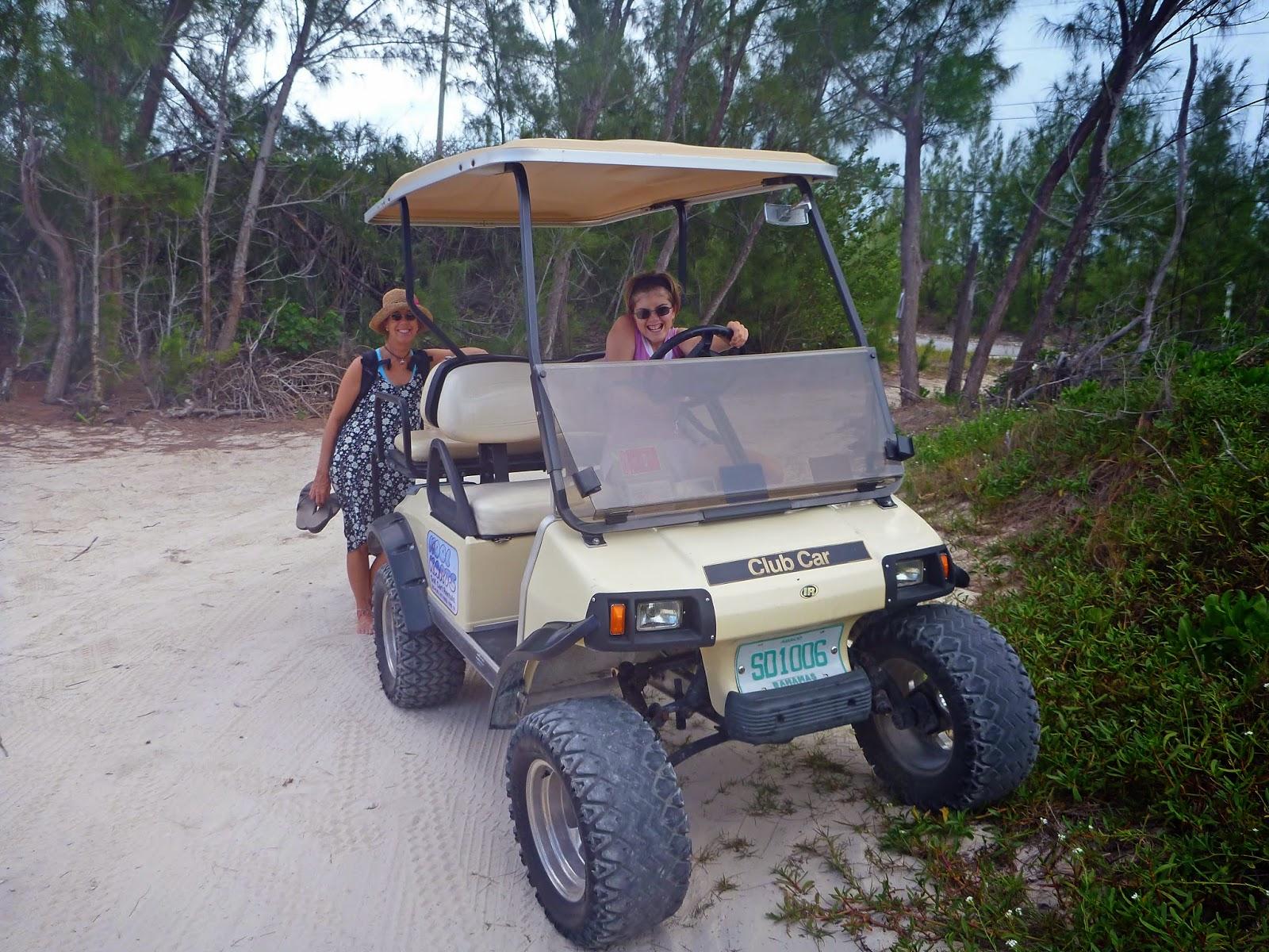 Emily grace april 2014 for Narrow golf cart