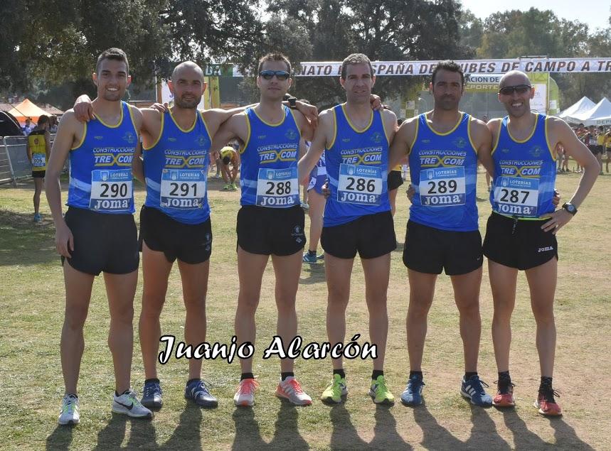 22º equipo absoluto en Cpto. España Cross por Clubes (Linares 2019)
