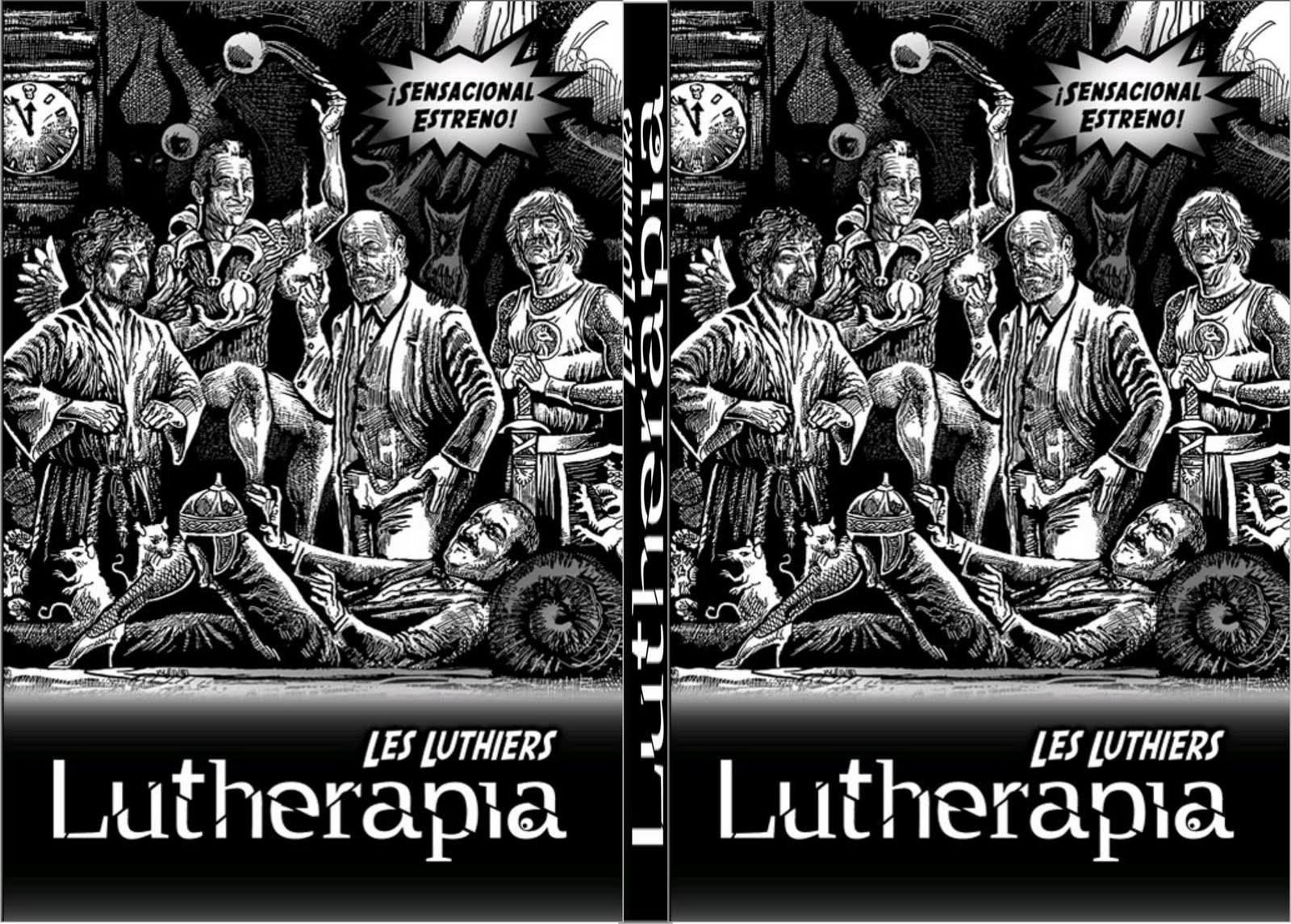 Les Luthiers – Lutherapia (2009)