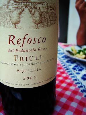 Refosco dal peduncolo rosso of Friuli