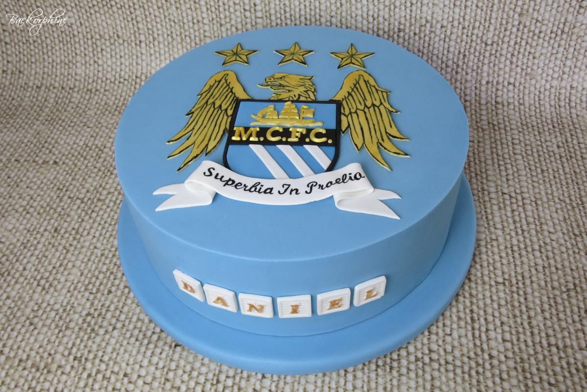 Man City Birthday Cake Tesco