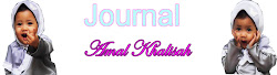 Journal Amal Khalisah