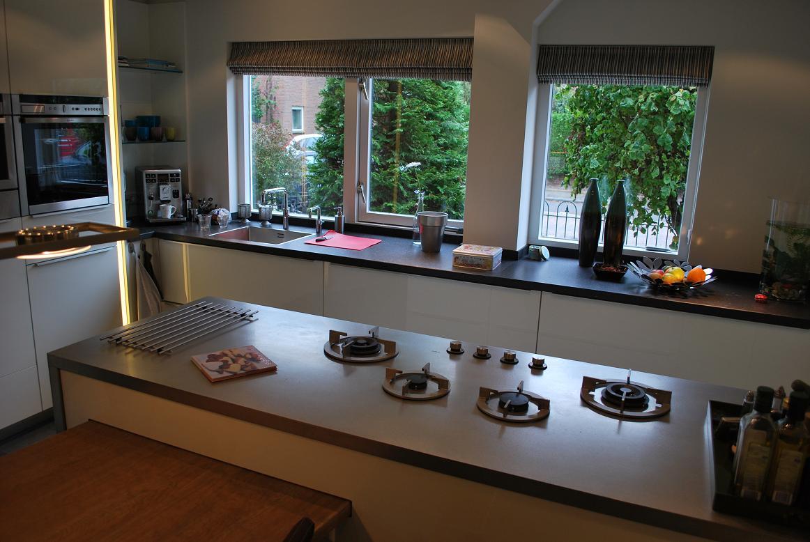 Idee industriele keuken - Idee deco keuken wit ...