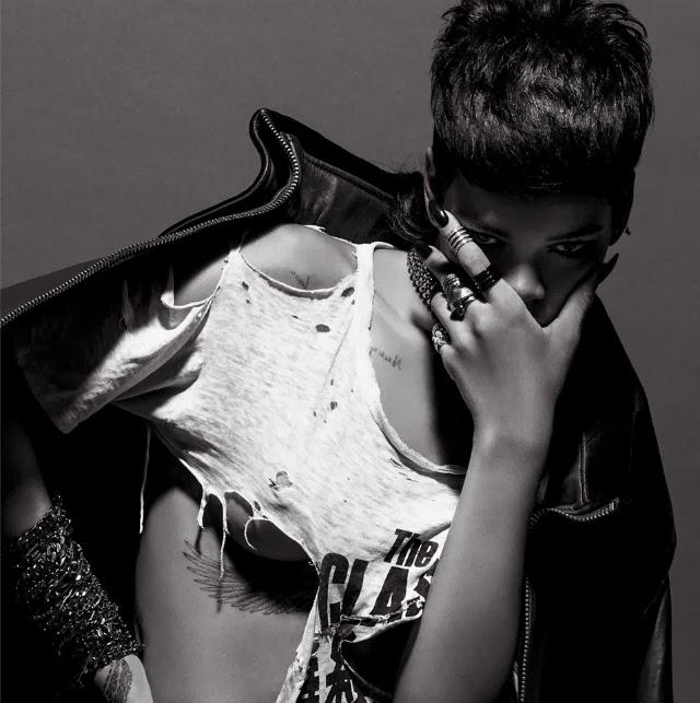 Rihanna fotos de revista 032c