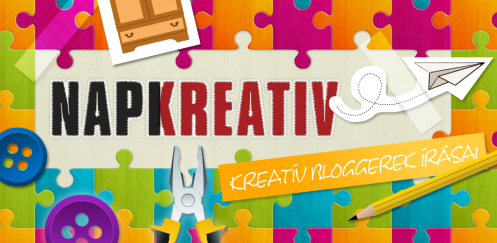 Napi Kreatív mobilalkalmazás a blogom követésére