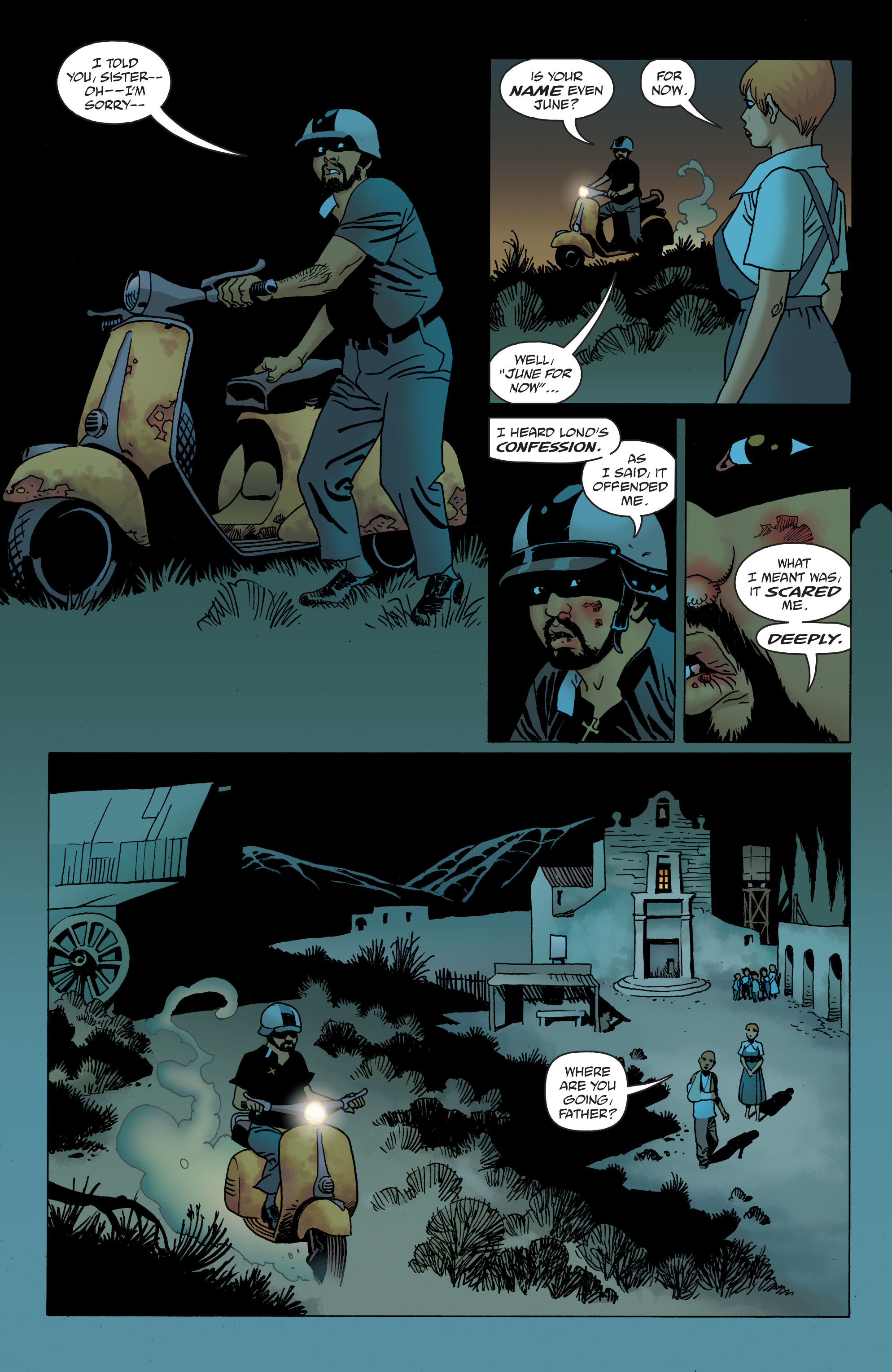 100 Bullets: Brother Lono Full Page 142