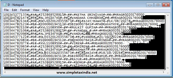 How To Create Epf Uan Kyc Bulk Text File Download Free Software