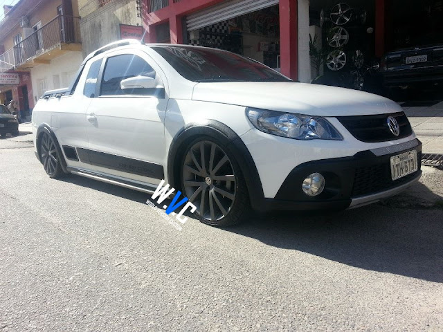 Saveiro Cross + Rodas aro 18""