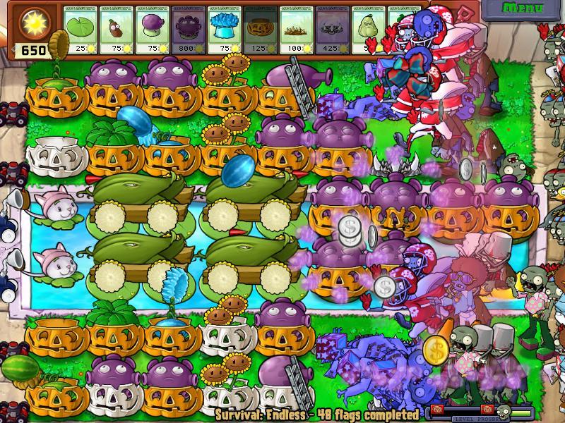 Game Plants vs Zombies 2 - Hoa quả nổi giận 2 - Game Vui