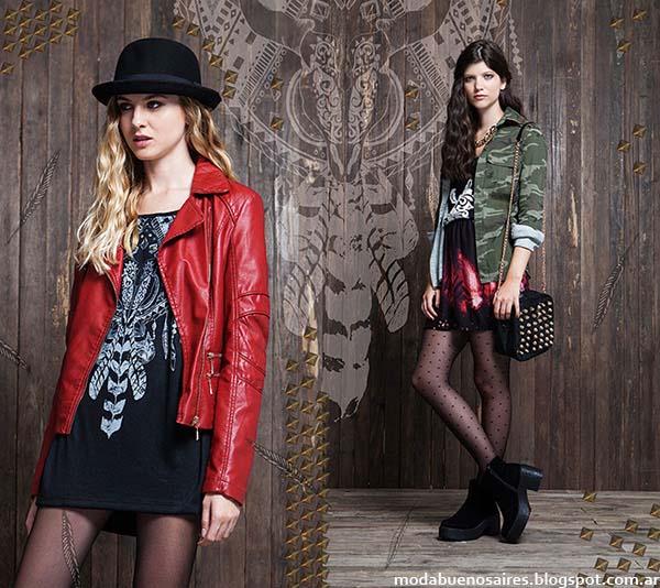 Rimmel otoño invierno 2014. Moda casual otoño invierno 2014 faldas.