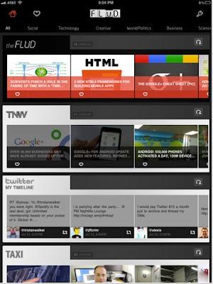 leer tus noticias en el iPad - flud