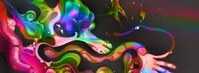 Belle image de couverture facebook artistique
