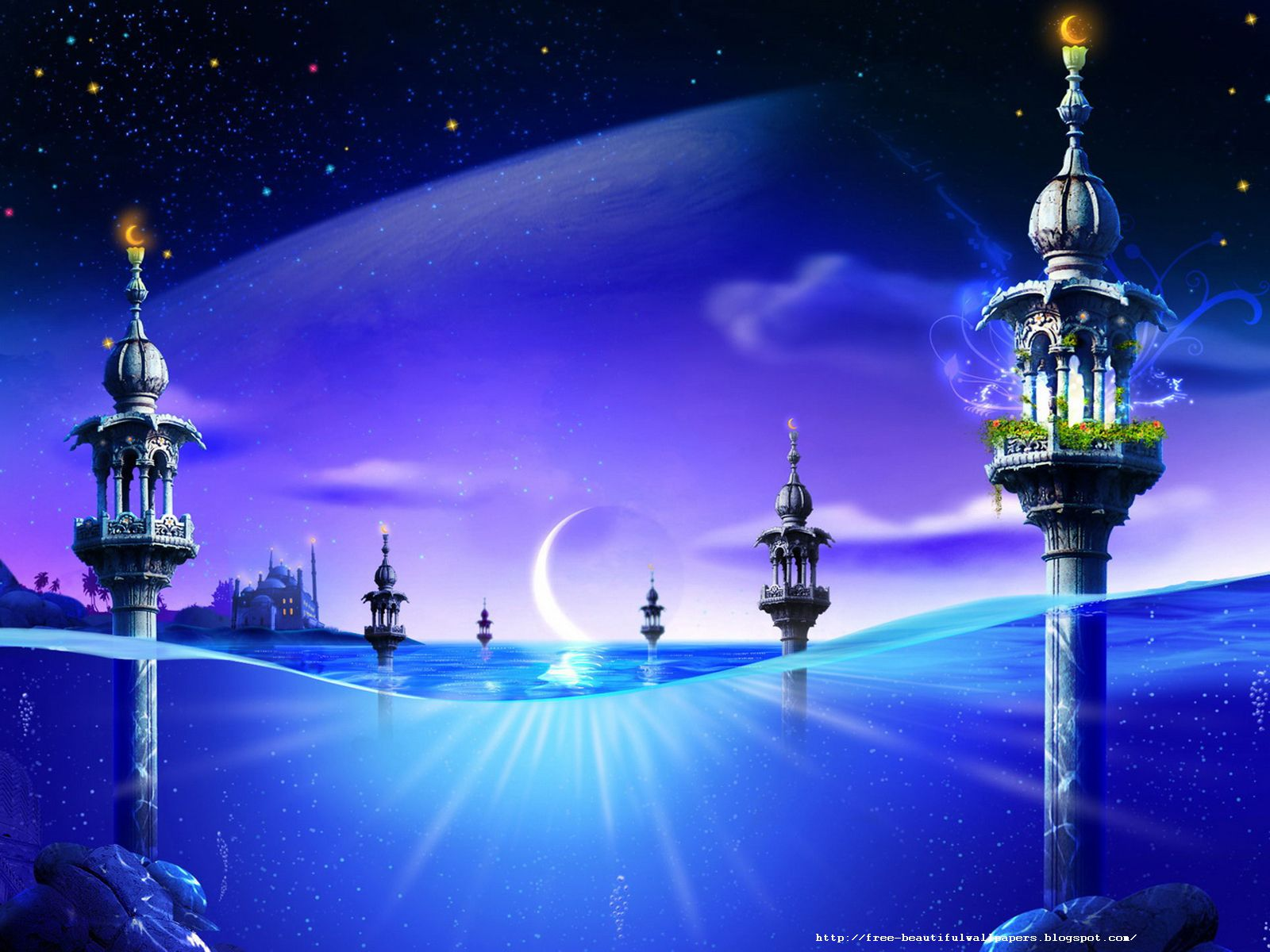 Free beautiful wallpapers download islamic beautiful wallpapers - Islamic background wallpaper ...