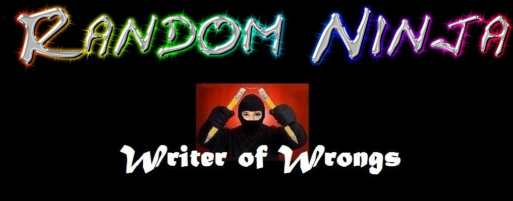 Random Ninja - Writer of Wrongs