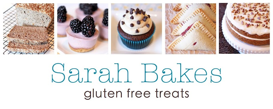 Sarah Bakes Gluten Free Treats