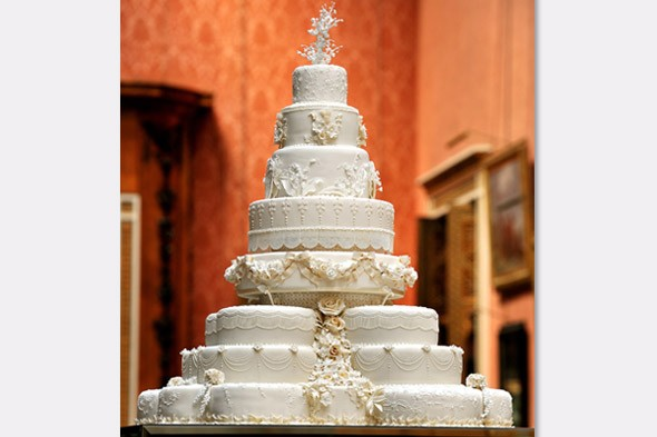 prince william and kate wedding cake. prince william and kate