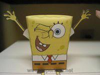 Spongebob Square Pants Papercraft