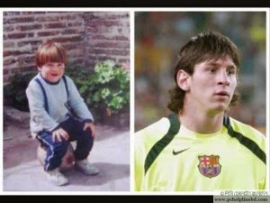 messi childhood-young