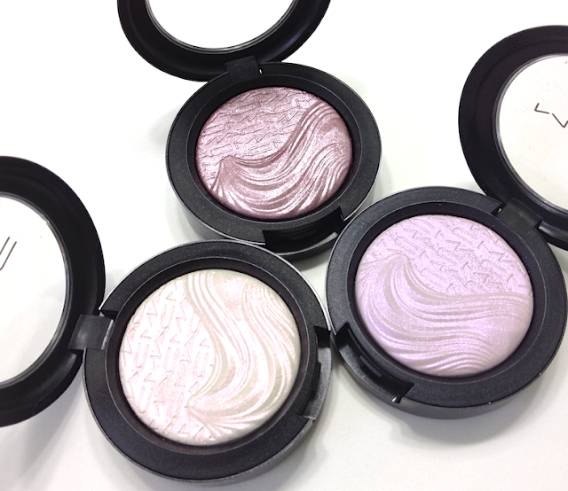 MAC Extra Dimension Eyeshadows - Opalesse, Triple Impact, Smoky Mauve