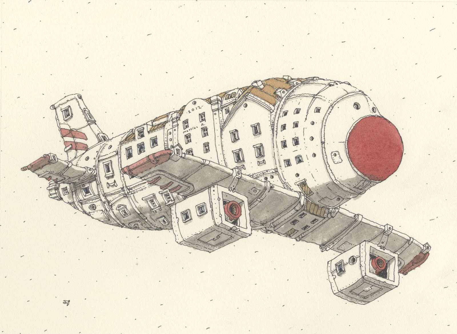 Mattias Inks House Plane