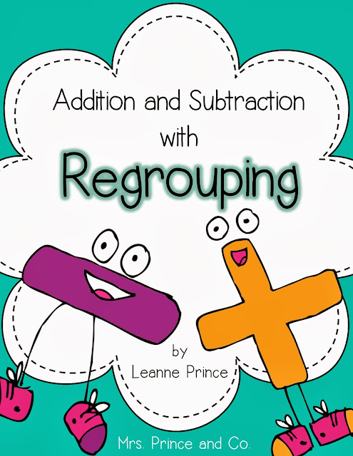 http://www.teacherspayteachers.com/Product/Regrouping-Addition-and-Subtraction-174309