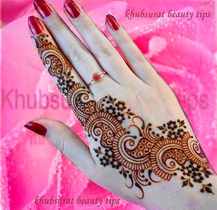 latest hand mehndi design