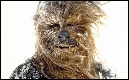 """Chewbacca en """"El imperio contraataca"""" (1980)"""