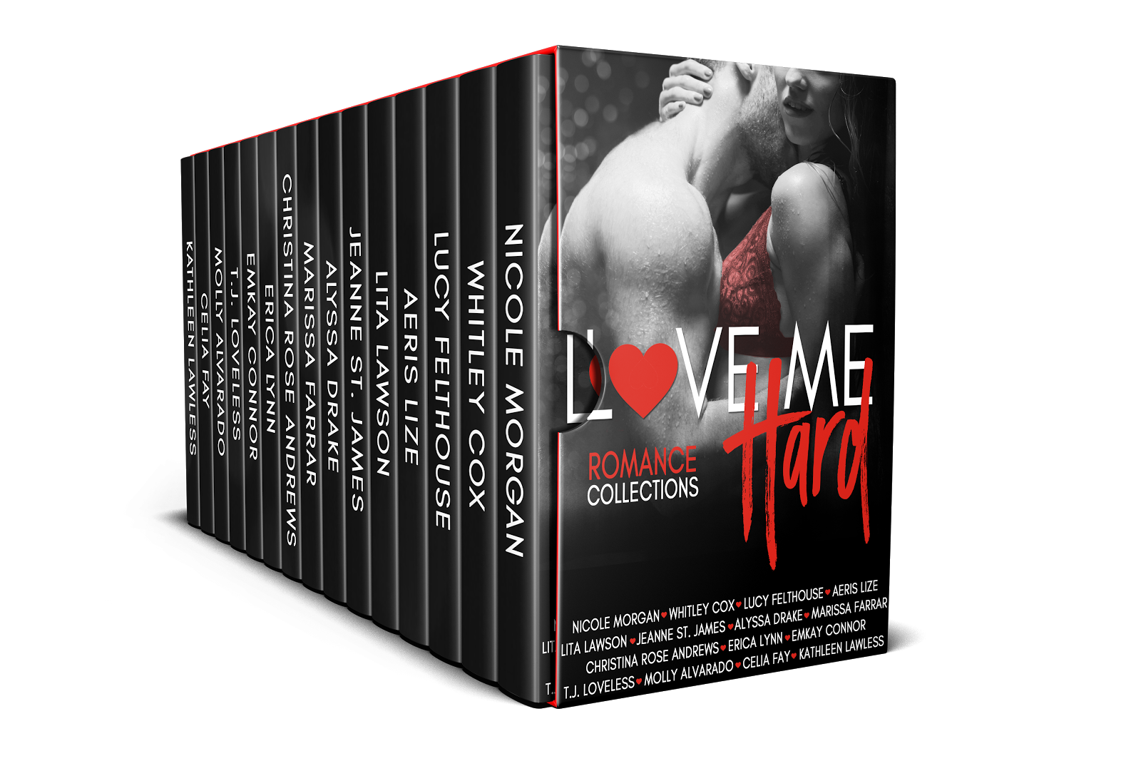 Love Me Hard Featuring Whitley Cox, Jeanne St. James and Erica Lynn