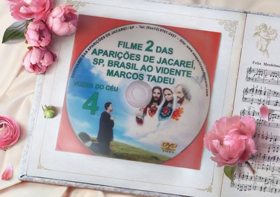 DVD: FILME VOZES DO CÉU 4 - AS APARIÇÕES DE JACAREÍ 2ª PARTE