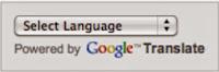 google translate in blogger
