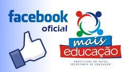 Facebook do Mais Educação Patos - PB