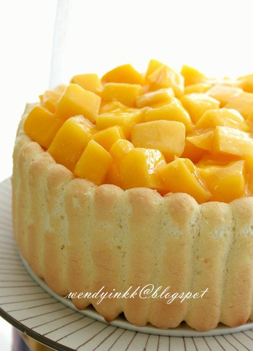 Mango Cheese Cake Images