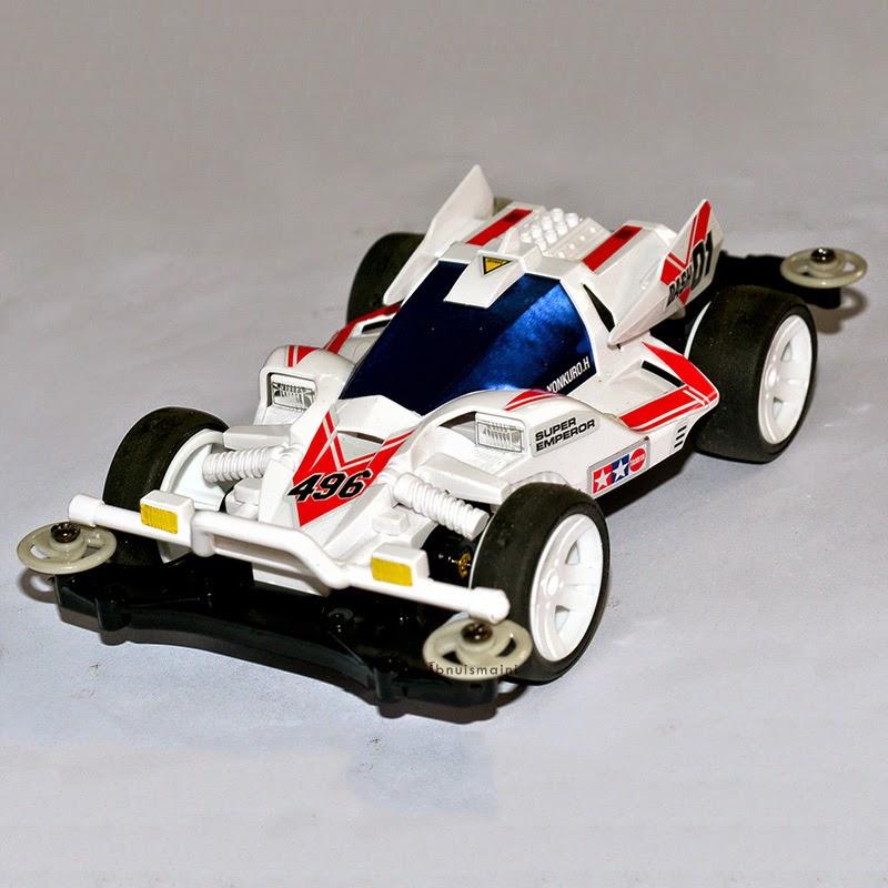 mini 4WD, tamiya, dash yonkuro, super emperor, ms pro, chassis