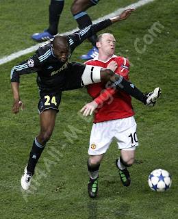 Olympique de Marseille, Manchester United, Manchester United players, Marseille players, Nani, Berbatov, Rooney