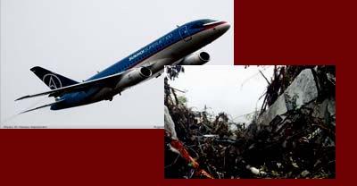 foto korban sukhoi bangkai pesawat