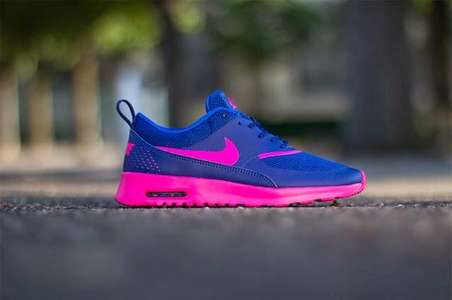 Nike Air Max Thea Royal Blue Volt