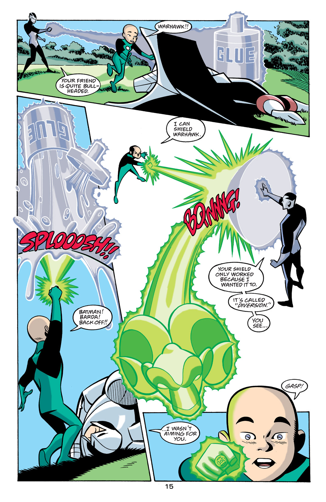 Batman Beyond [II] Issue #21 #21 - English 16