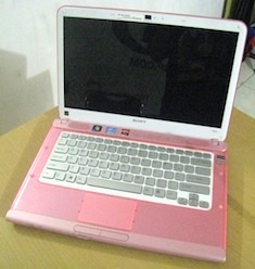 jual laptop 2nd sony vaio vpcca15fg core i5