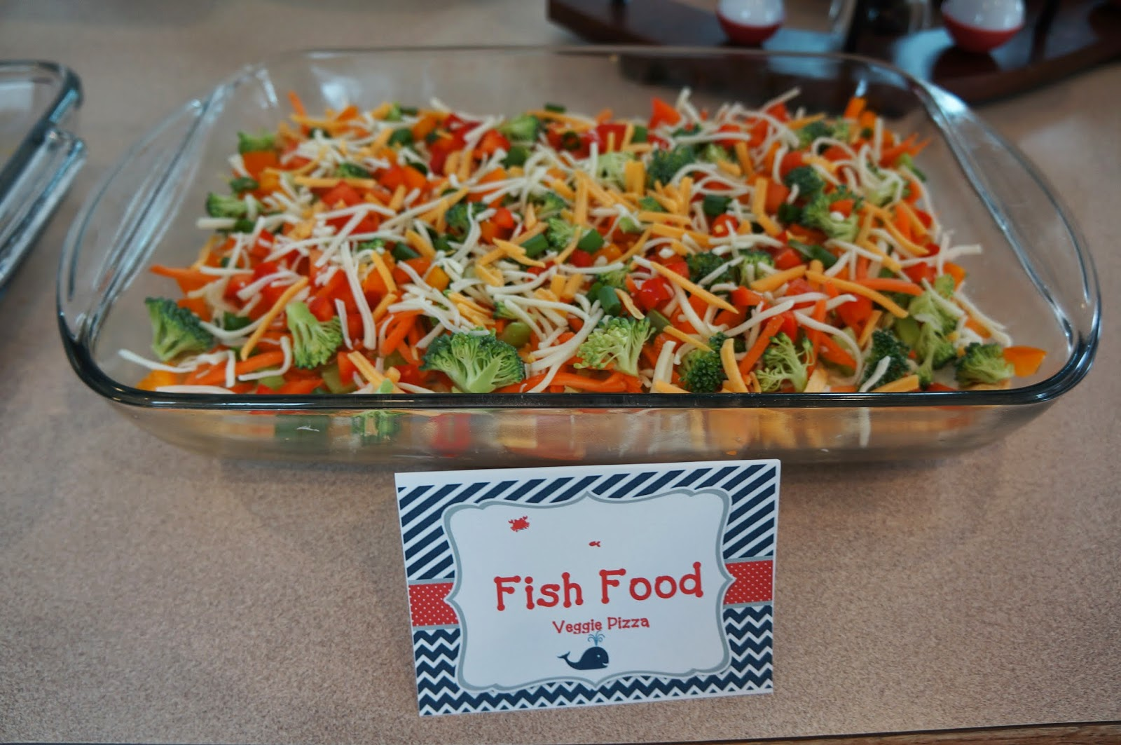 something yummy for your tummy fishing themed baby shower
