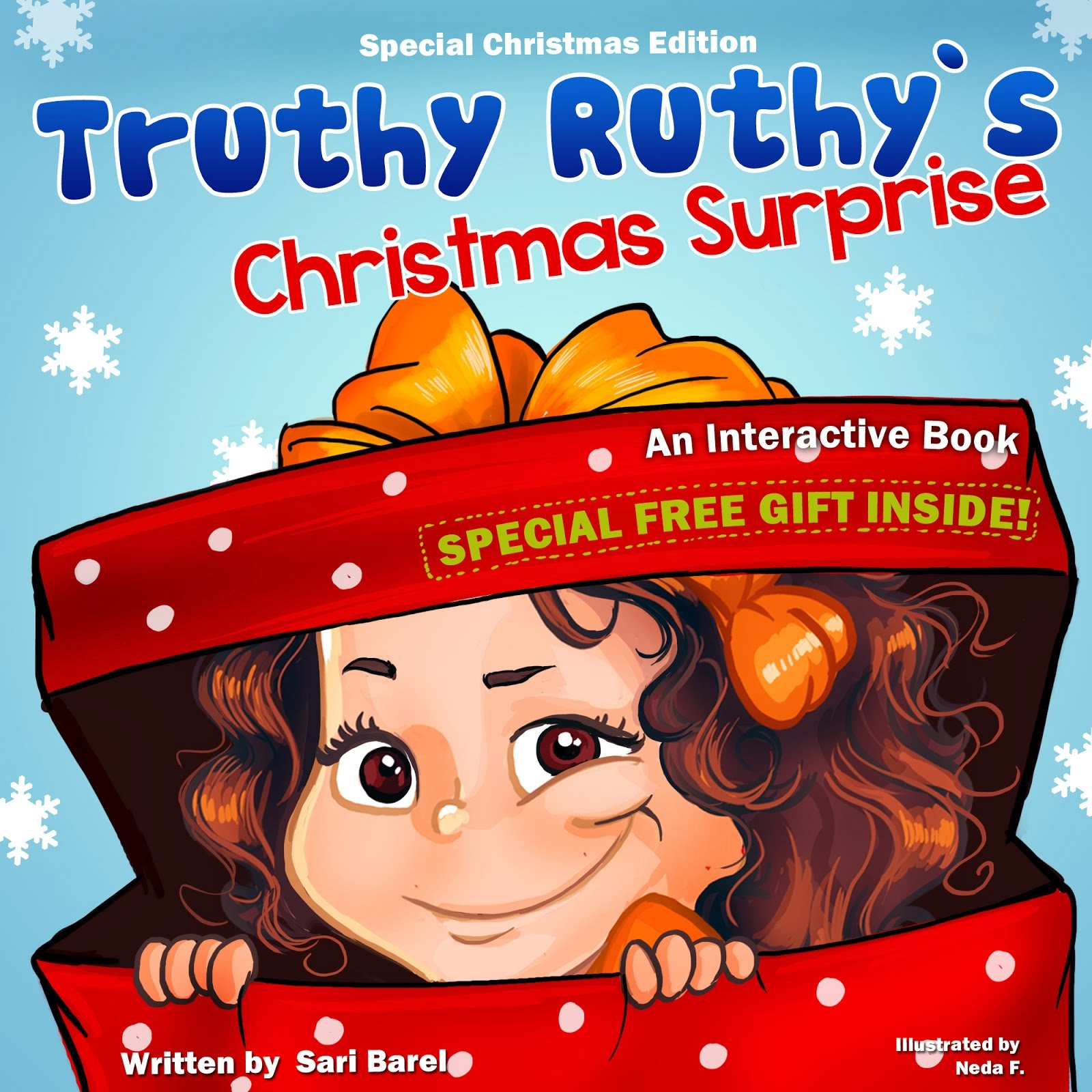 Celebrate the holiday with Truthy Ruthy's Christmas Surprise! Includes a special free gift!