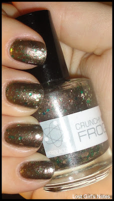 nerd lacquer crunchy frog swatches