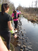 NJ Ultra Fest water crossing