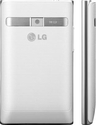 white lg optimus l3