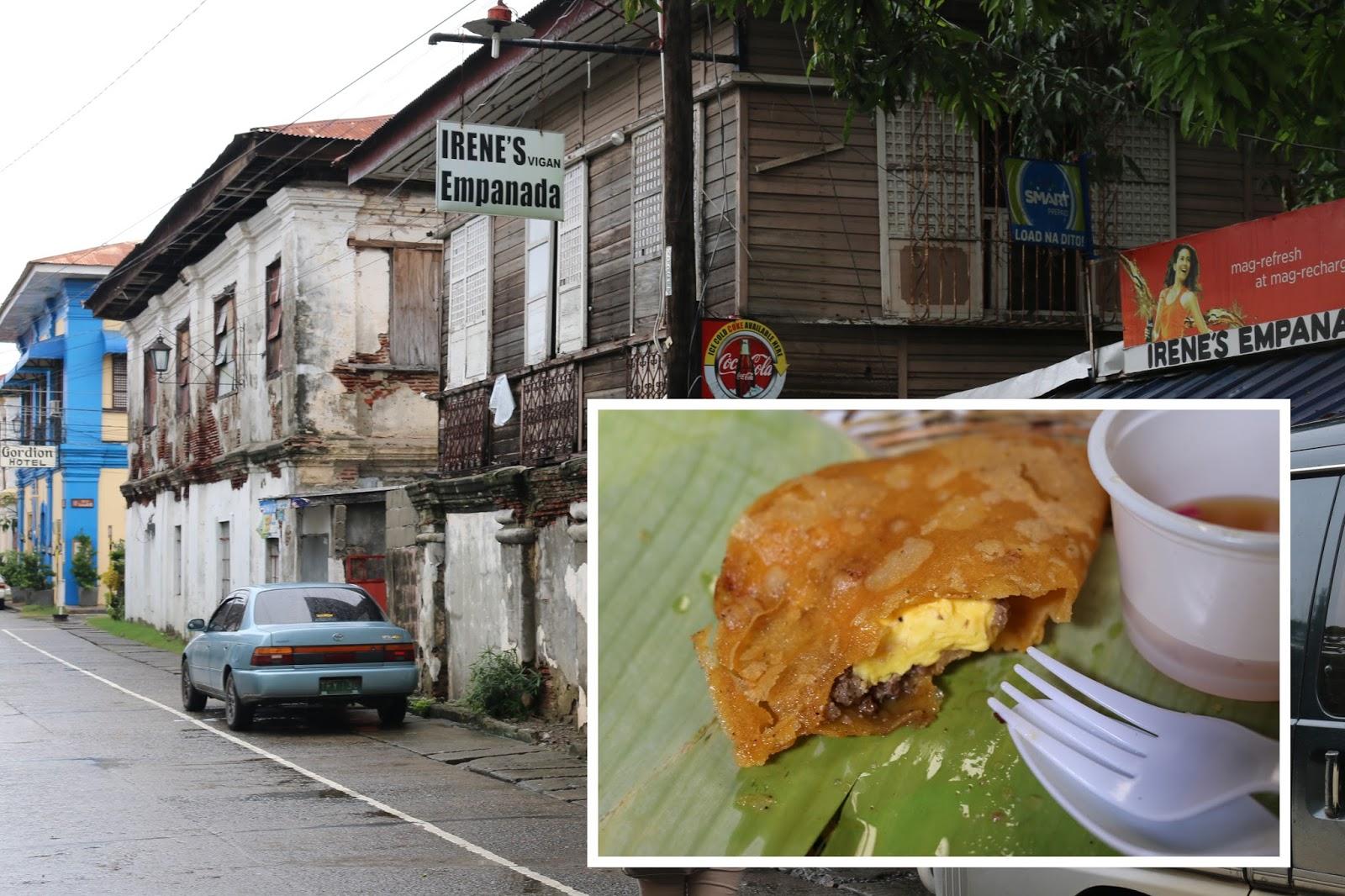 travel Vigan Ilocos Tour Sur Philippines tour tourism Syquia Mansion Elpidio Quirino empanada irenes